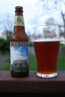 A shoal is a somewhat linear landform extending into a body of water, typically composed of sand, silt or small pebbles. This is a somewhat delicious beer extending into my stomach, composed of water, hops, and alcohol.