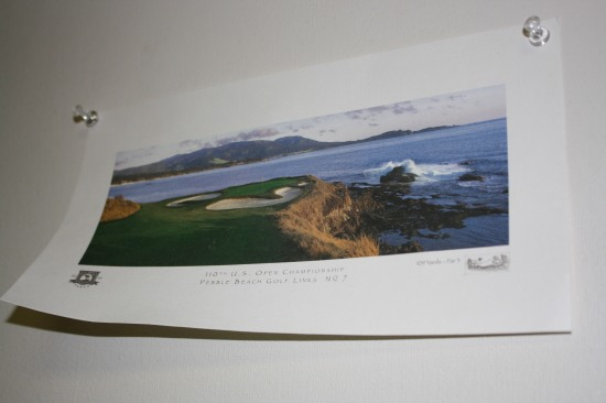 "The famous ""Seventh Hole"" of Pebble Beach Golf Links."
