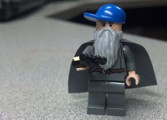 "I made ""Gangsta Gandalf"" because I know and have studied the rules of LOTR for years."