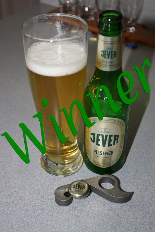 Jever Pilsner moves on to the quarters!