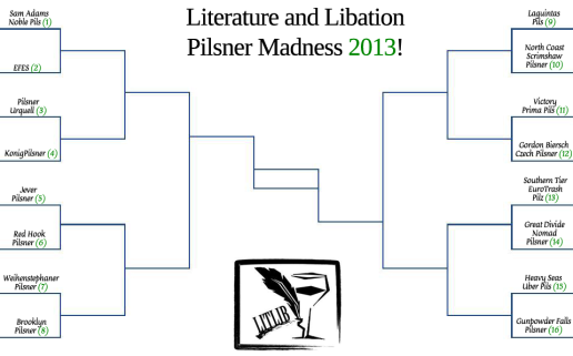 Pilsner Madness Bracket All Beers