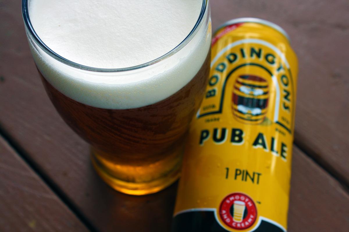 Boddingtons Draught Bitter — The Dieline - Branding & Packaging Design
